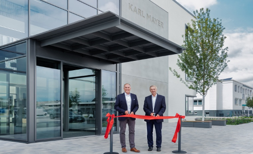 KARL MAYER Group moved into a new building