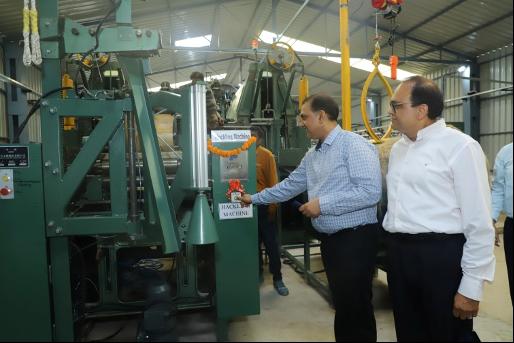 Long staple natural fibre pilot plant Inaugurated at NITRA
